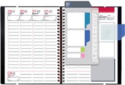 Oxford Agenda semainier Office 2018, 210 x 297 mm, bleu