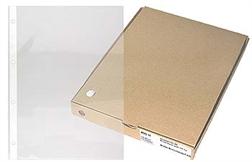 Bte de 100 poches - polypropylène A4 - ép. 0.085mm mat