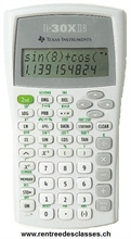 Calculatrice école secondaire TI - 30 X II B