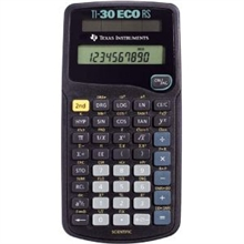 Calculatrice TI-30 eco RS