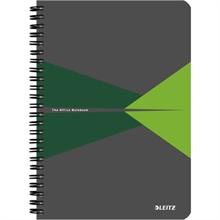 """LEITZ Cahier """"Office"""", A5, quadrillé, 180 pages, vert"""