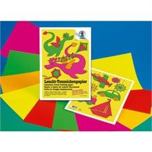 Pochette de papier à dessin URSUS couleur fluo 23 x 33 cm