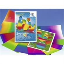 Papier couleur arc-en-ciel 23 x 33 cm