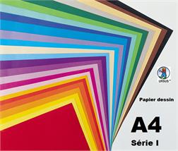 Pqt de 100 flles papier dessin A4 130gm2