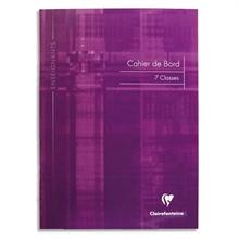 Carnet journal de bord Clairefontaine A5 40 pages