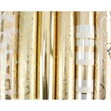 CLF papier cadeau ass. or