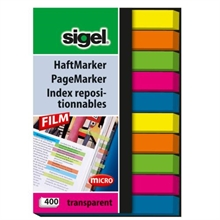 Sigel index repositionnable 6x50mm