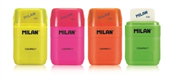 Taille-crayons+gomme Milan Compact