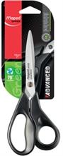 Maped Ciseaux Advanced Green, longueur: 180 mm, asymétrique