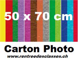 Pqt de 10 cartons affiches 50x70 - 300gm2