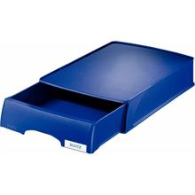 LEITZ Tiroir-bac à courrier Plus, format A4, bleu, en