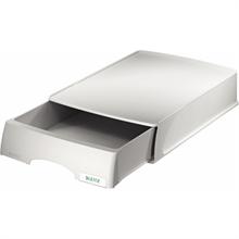LEITZ Tiroir-bac à courrier Plus, format A4, gris, en