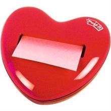 distributeur de Post-it en forme de cœur