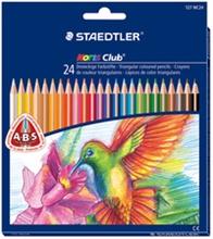 Boîtes de crayons de couleur Noris Club Triplus