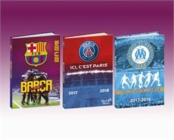 Agenda scolaire Clubs de football 2017/2018, 120 x 170 mm