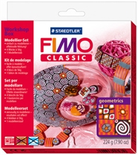 "FIMO CLASSIC kit de modelage Workshop box ""geometrics"""