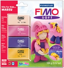 "FIMO SOFT Pâte à  modeler Kits for Kids ""Marsy"""