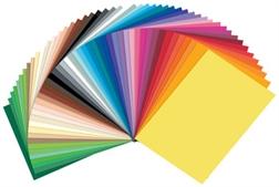 Pqt de 50 Carton de couleur, 250 x 350 mm