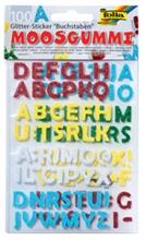 Pqt de 100 stickers scintillant caoutchouc mousse