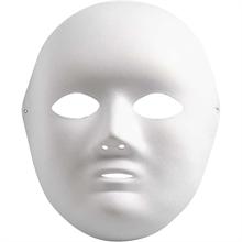 Masque en papier mâché 22cm
