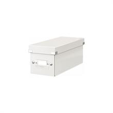 LEITZ coffret de rangement pour CD Click & Store, blanc