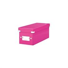 LEITZ coffret de rangement pour CD Click & Store WOW, rose