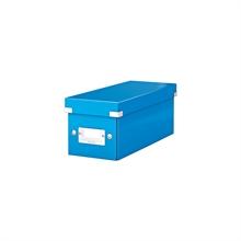 LEITZ coffret de rangement pour CD Click & Store WOW, bleu