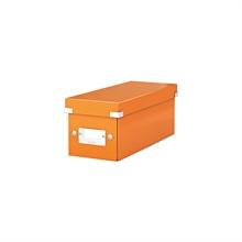 LEITZ coffret de rangement pour CD Click & Store WOW, Orange