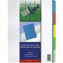 Répertoires A4 en carton de couleur