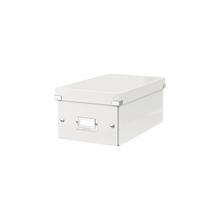 LEITZ coffret pour DVD Click & Store, blanc