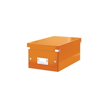 LEITZ coffret pour DVD Click & Store WOW, orange