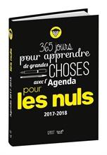 Agenda scolaire Pour les Nuls 2017/2018, 120 x 170 mm