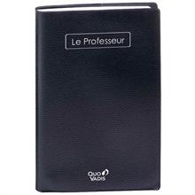 "Agenda ""Le Professeur"" QUO VADIS Impala 2018/2019, noir"
