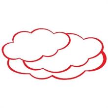Büroline cartes d'animation nuage petit