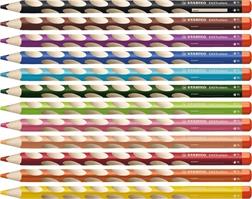 Crayons Stabilo EASYcolors pour droitiers