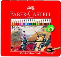 Crayons de couleur hexagonaux CASTLE