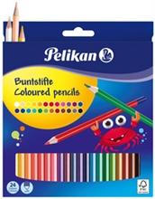 Etui de 36 crayons de couleur standard, étui en carton