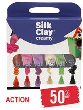 Silk Clay® Creamy , Couleurs assorties, 6x35ml