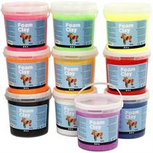 Pack school Foam Clay 560g. couleur
