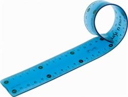 """Règle plate """"Twist'n Flex"""" 30cm incassable"""