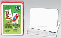 Set de 36 cartes de jeux vierges