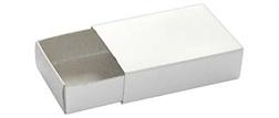 Pqt de 12 boîtes d'allumettes blanches