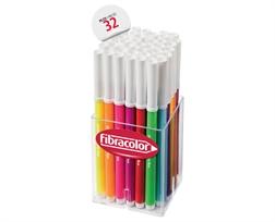 Pot scolaire de 32 feutres colorito Fluo