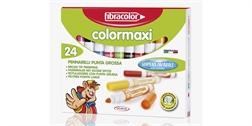 Etui de24 feutres Fibracolor ColorMaxi pointe large