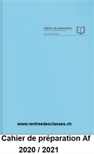 Cahier de préparation Suisse - 2021/2022