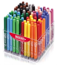 Pack Ecole de 120 feutres Fibracolor Happy Time Coloritone  pointe large