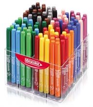 Pack Ecole de 120 feutres Fibracolor Happy Time Coloritone  pointe large