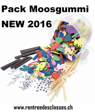 School Pack Moosgummi & divers