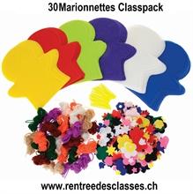 Marionnettes Classpack pour 30 pièces