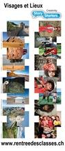 """Pack de 40 flles """"Story Starters"""" Enfants et Lieux"""